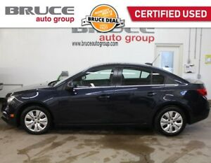 2015 Chevrolet Cruze LT 1.4L 4 CYL TURBOCHARGED AUTOMATIC FWD 4D