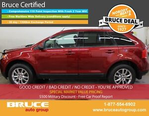 2013 Ford Edge SEL 3.5L 6 CYL AUTOMATIC AWD LEATHER INTERIOR, HE