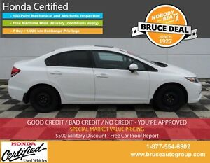 2015 Honda Civic EX 1.8L 4 CYL I-VTEC CVT FWD 4D SEDAN