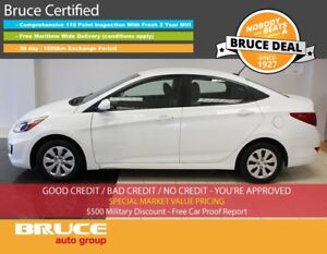 2016 Hyundai Accent SE 1.6L 4 CYL AUTOMATIC FWD 4D SEDAN SATELLI