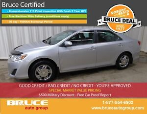 2013 Toyota Camry LE 2.5L 4 CYL AUTOMATIC FWD 4D SEDAN BLUETOOTH