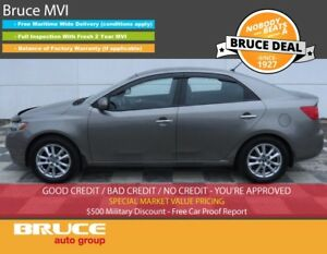 2013 Kia Forte EX 2.0L 4 CYL AUTOMATIC FWD 4D SEDAN SATELLITE RA