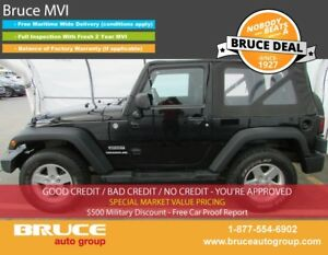 2011 Jeep Wrangler Sport 3.8L 6 CYL 5 SPD MANUAL 4X4 - 2 DOOR