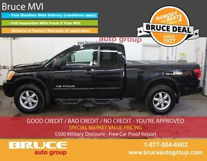 2012 Nissan Titan PRO 5.6L 8 CYL AUTOMATIC 4X4 EXTENDED CAB