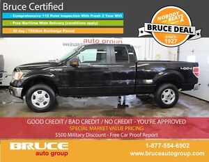 2014 Ford F-150 XLT 5.0L 8 CYL AUTOMATIC 4X4 SUPERCAB