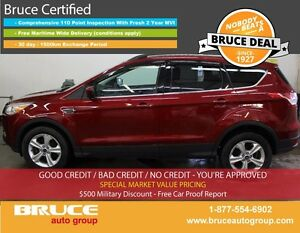 2014 Ford Escape SE 2.0L 4 CYL ECOBOOST AUTOMATIC 4WD HEATED SEA