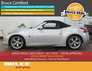 2012 Nissan 370Z TOURING 3.7L 6 CYL 6 SPD MANUAL RWD 2D CONVERTI