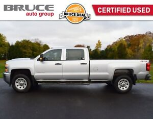 2018 Chevrolet Silverado 3500 HD WT - DIESEL / 4X4 / REAR CAMERA
