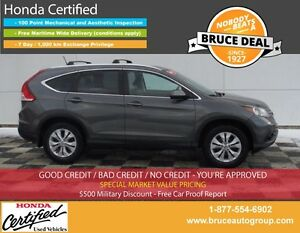 2014 Honda CR-V Ex-L 2.4L 4 CYL i-VTEC AUTOMATIC AWD SATELLITE R