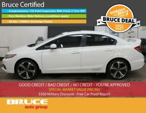 2014 Honda Civic Si 2.4L 4 CYL I-VTEC 6 SPD MANUAL FWD 4D SEDAN