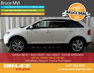 2014 Ford Edge LIMITED 3.5L 6 CYL AUTOMATIC AWD LEATHER INTERIOR