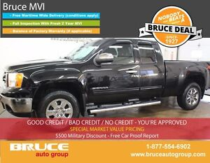 2013 GMC Sierra 1500 SLE 5.3L 8 CYL AUTOMATIC 4X4 EXTENDED CAB R