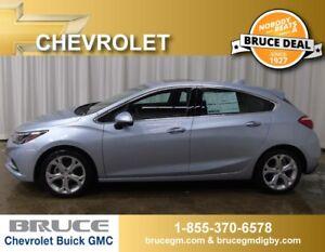 2017 Chevrolet Cruze Premier 1.4L 4 CYL TURBO AUTOMATIC 5D HATCH