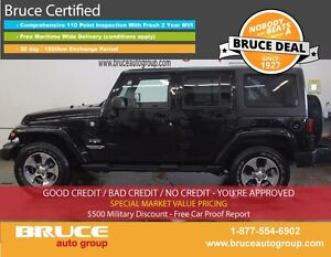 2016 Jeep Wrangler Unlimited Sahara 3.6L 6 CYL AUTOMATIC 4X4 4 D