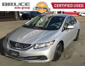 2015 Honda Civic LX - BLUETOOTH / HEATED SEATS / REAR CAMERA
