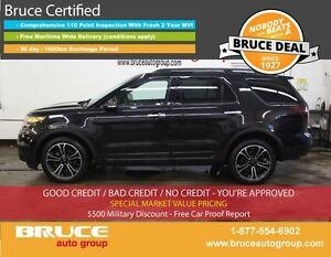 2014 Ford Explorer Sport 3.5L 6 CYL AUTOMATIC AWD BLIND SPOT MON