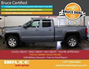 2015 GMC Sierra 1500 SLE 5.3L 8 CYL AUTOMATIC 4X4 EXTENDED CAB R