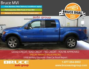 2011 Ford F-150 FX4 3.5L 6 CYL ECOBOOST AUTOMATIC 4X4 SUPERCREW
