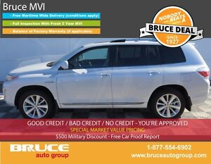 2011 Toyota Highlander HYBRID LIMITED 3.5L 6 CYL CVT AWD VERY RA
