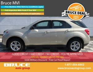 2011 Chevrolet Equinox LS 2.4L 4 CYL AUTOMATIC AWD