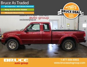 2008 Ford Ranger SPORT 3.0L 6 CYL 5 SPD MANUAL RWD SUPERCAB