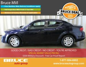 2012 Dodge Avenger 2.4L 4 CYL AUTOMATIC FWD 4D SEDAN
