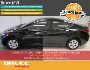 2014 Hyundai Elantra GL 1.8L 4 CYL 6 SPD MANUAL FWD 4D SEDAN