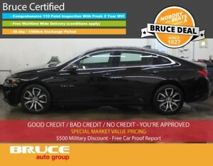 2017 Chevrolet Malibu LT 1.5L 4 CYL TURBO AUTOMATIC FWD 4D SEDAN