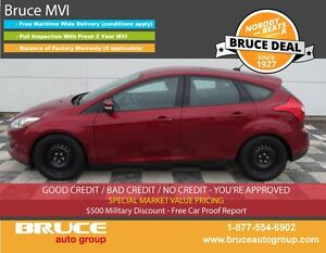 2014 Ford Focus SE 2.0L 4 CYL 5 SPD MANUAL FWD 5D HATCHBACK ECO-