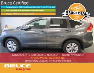 2013 Honda CR-V EX-L 2.4L 4 CYL I-VTEC AUTOMATIC AWD Premium Lea