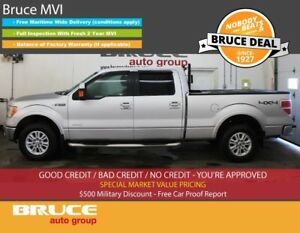 2013 Ford F-150 LARIAT 3.5L 6 CYL ECOBOOST AUTOMATIC 4X4 SUPERCR