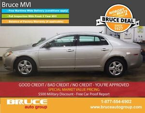2008 Chevrolet Malibu LS 2.4L 4 CYL AUTOMATIC FWD 4D SEDAN
