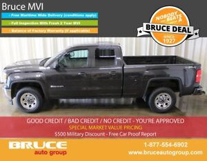 2015 GMC Sierra 1500 WT 4.3L 6 CYL AUTOMATIC 4X4 EXTENDED CAB SP