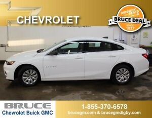 2017 Chevrolet Malibu L 1.5L 4 CYL TURBOCHARGED AUTOMATIC FWD 4D