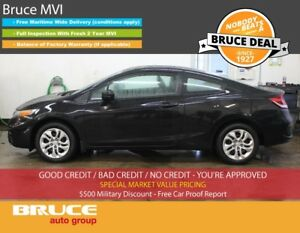 2015 Honda Civic LX 1.8L 4 CYL I-VTEC CVT FWD 2D COUPE HEATED SE