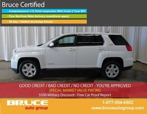 2016 GMC Terrain SLE 2.4L 4 CYL AUTOMATIC AWD SATELLITE RADIO, T