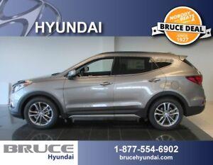 2018 Hyundai Santa Fe SPORT LIMITED 2.0L 4 CYL TURBO AUTOMATIC A