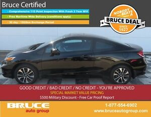 2014 Honda Civic EX 1.8L 4 CYL I-VTEC 5 SPD MANUAL FWD 2D COUPE