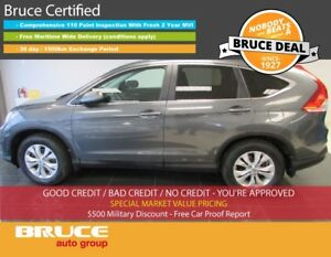 2013 Honda CR-V EX-L 2.4L 4 CYL I-VTEC AUTOMATIC AWD Leather,Sun