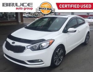 2015 Kia Forte SX - LEATHER INTERIOR / SUN ROOF / NAVIGATION FUL