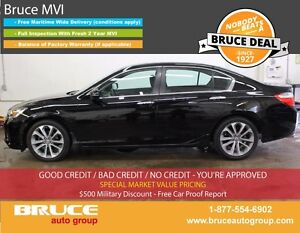 2015 Honda Accord Sport 2.4L 4 CYL i-VTEC CVT FWD 4D SEDAN BLUET