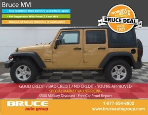 2014 Jeep Wrangler UNLIMITED SPORT 3.6L 6 CYL AUTOMATIC 4WD 4-DO