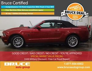 2012 Ford Mustang Premium 3.7L 6 CYL AUTOMATIC RWD 2D CONVERTIBL
