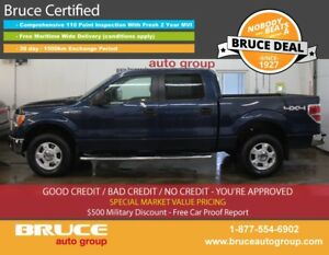2014 Ford F-150 XLT 5.0L 8 CYL AUTOMATIC 4X4 SUPERCREW