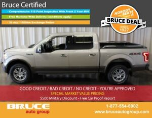 2017 Ford F-150 LARIAT 5.0L 8 CYL AUTOMATIC 4X4 SUPERCREW FULLY