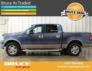2005 Ford F-150 LARIAT 5.4L 8 CYL AUTOMATIC 4X4 SUPERCREW
