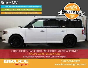 2016 Ford Flex LIMITED 3.5L 6 CYL AUTOMATIC AWD LEATHER INTERIOR