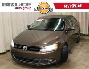 2013 Volkswagen Jetta HIGHLINE - LEATHER / DIESEL / NAVIGATION