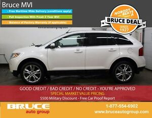 2013 Ford Edge LIMITED 3.5L 6 CYL AUTOMATIC AWD LEATHER INTERIOR