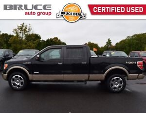 2012 Ford F-150 LARIAT - LEATHER INTERIOR / 4X4 / SUN ROOF Ecobo